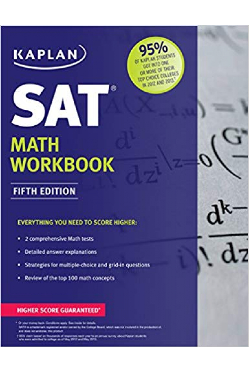 kaplan sat math workbook 5th