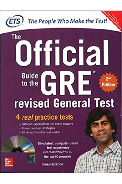 the official guide to the GRE 2nd ETS