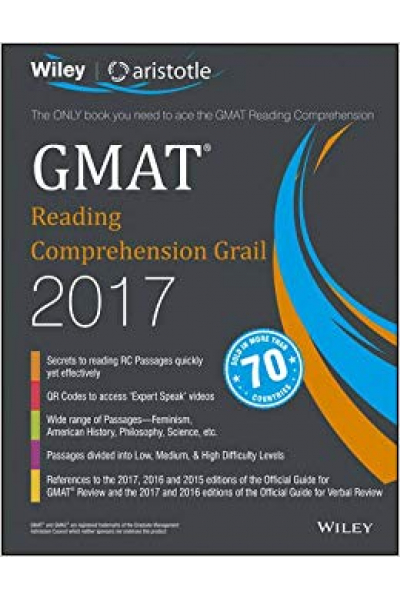 GMAT reading comprehension grail 2017 wiley