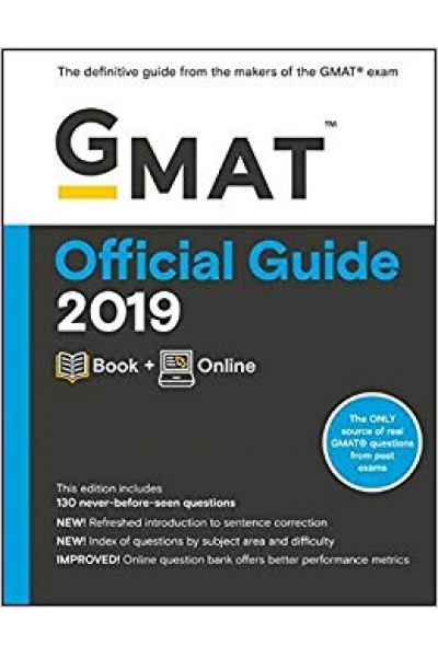 official guide GMAT 2019