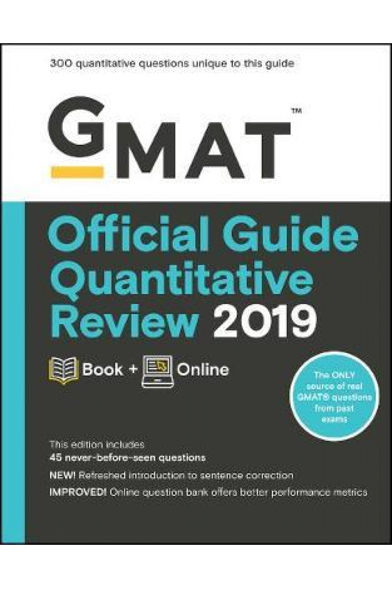 official guide quantitative review GMAT 2019