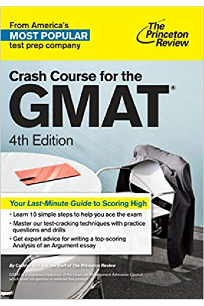 crash course for the GMAT 4th the princetion review