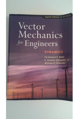 Bookstore vector mechanics for engineers-dynamics 8th (beer, johnston)