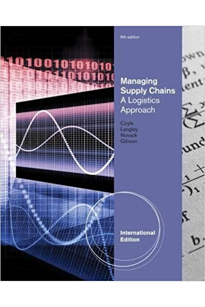 Managing Supply Chains a Logistics Approach 9th (Langley) Managing Supply Chains a Logistics Approach 9th (Langley)