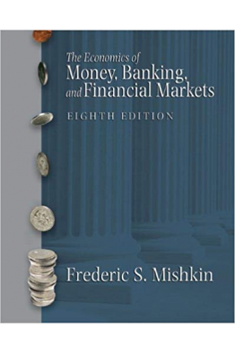 Bookstore the economics of money, banking and financial markets 8th (frederic s. mishkin)