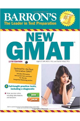 Bookstore BARRON'S NEW GMAT 17TH
