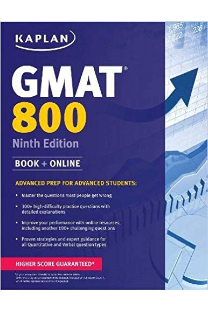 KAPLAN GMAT 800 9th