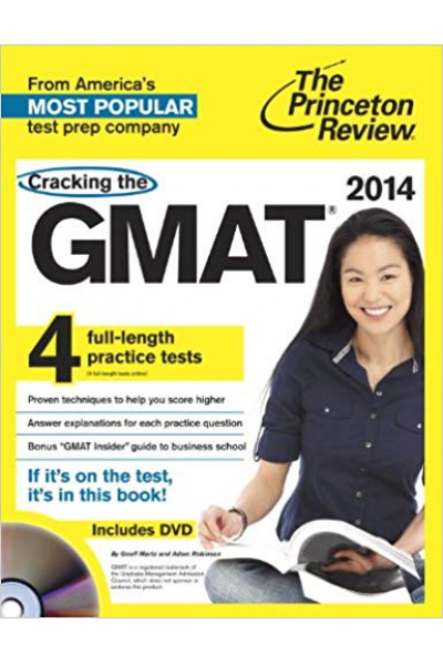 cracking the GMAT 2014 the princeton review + CD
