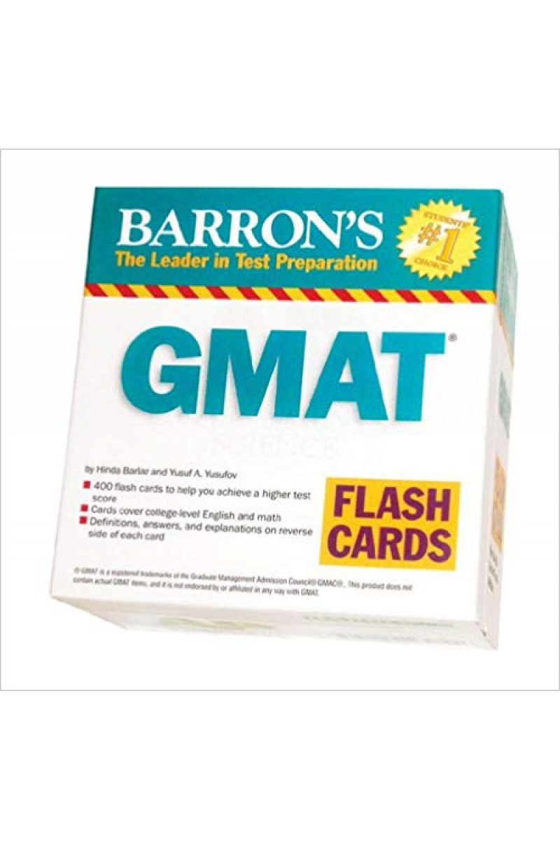 BARRON'S GMAT 400 FLASH CARDS