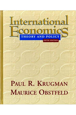 Bookstore international economics theory and policy 5th (paul r. Krugman)