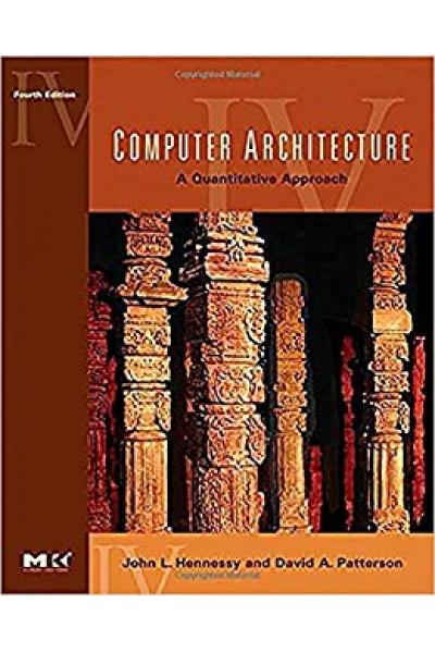computer architecture a quantitative approach 4th (hennessy, patterson)
