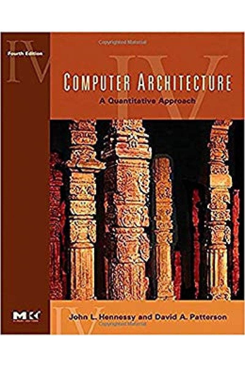 computer architecture a quantitative approach 4th (hennessy, patterson)