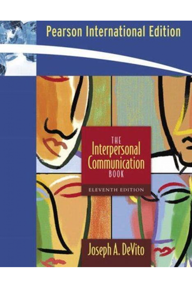the interpersonal communication book 11th (joseph a. devito)