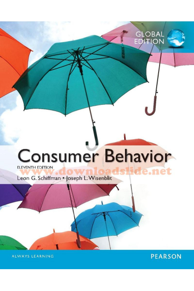 Bookstore consumer behavior 11th (schiffman, wisenblit)