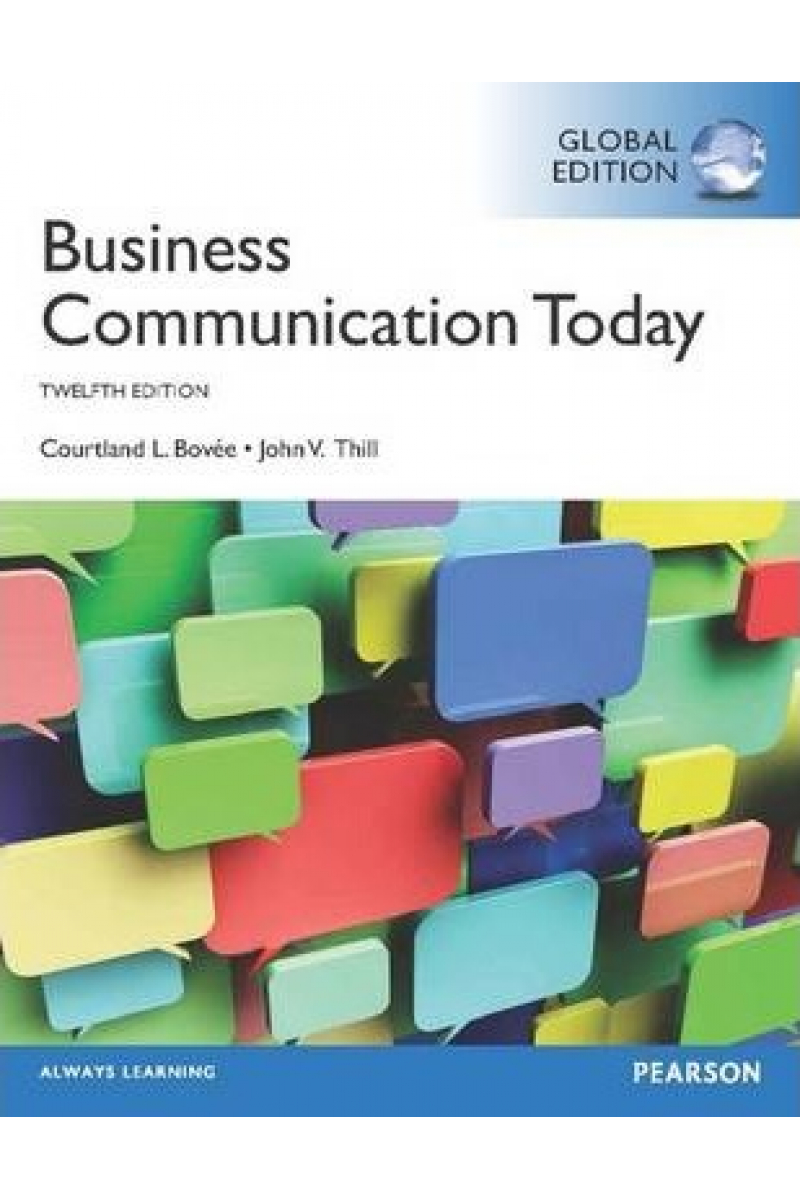 business communication today 12th (bovee)