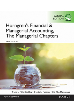 Bookstore horngren's financial and managerial accounting the MANAGERIAL 5TH