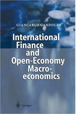 Bookstore International Finance and Open-Economy Macroeconomics 2002 Gandolfo