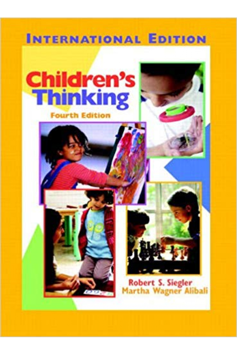 children's thinking 4th (siegler, alibali)