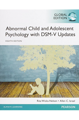 Bookstore abnormal child and adolescent psychology with 8th (nelson, israel)