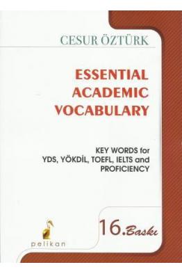 Bookstore Essential Academic Vocabulary Cesur Öztürk 16. Baskı