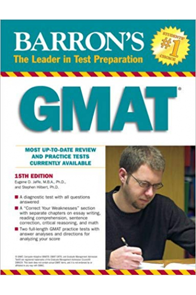 Bookstore BARRON'S GMAT 15TH + CD