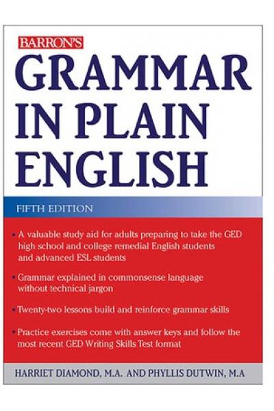 BARRON'S grammar in plain english 5th (diamond, dutwin)