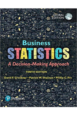 Bookstore business statistics a decision-making approach 10th tenth (groebner,shannon, fry, smith)