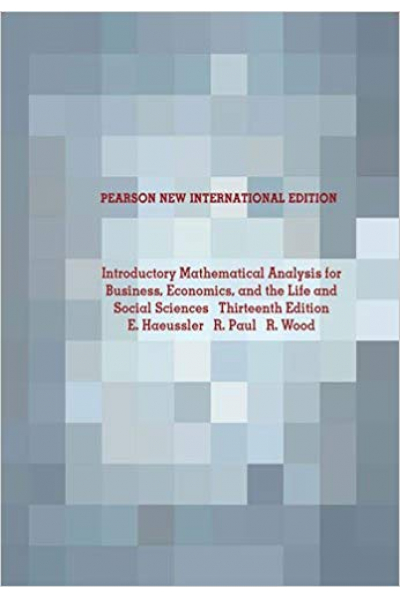 Introductory Mathematical Analysis 13th (Ernest F. Haeussler) Introductory Mathematical Analysis 13th (Ernest F. Haeussler)