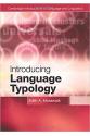 introducing language typology (moravcsik)
