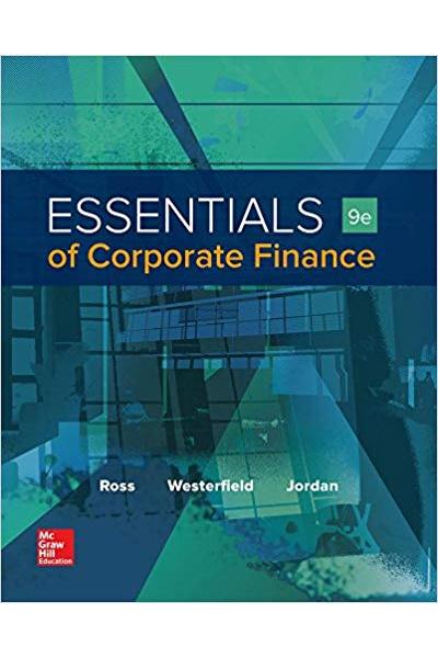 essentials of corporate finance 9th (ross, westerfield, jordan)