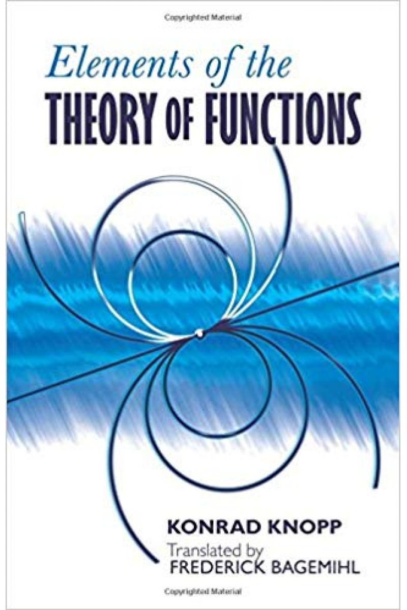 elements of the theory of functions (konrad knopp)