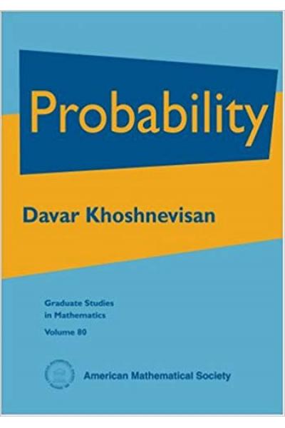 Probability Graduate Studies in Mathematics Davar Khoshnevisan