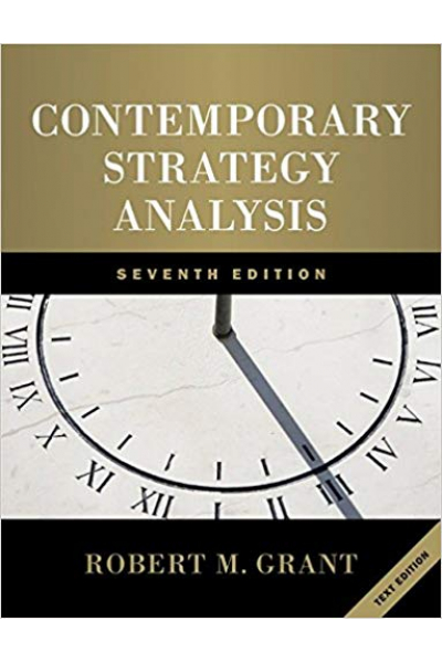 contemporary strategy analysis 7th (robert grant)
