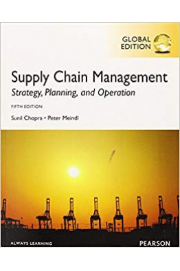 Bookstore supply chain management 5th (sunil chopra, peter meindl)