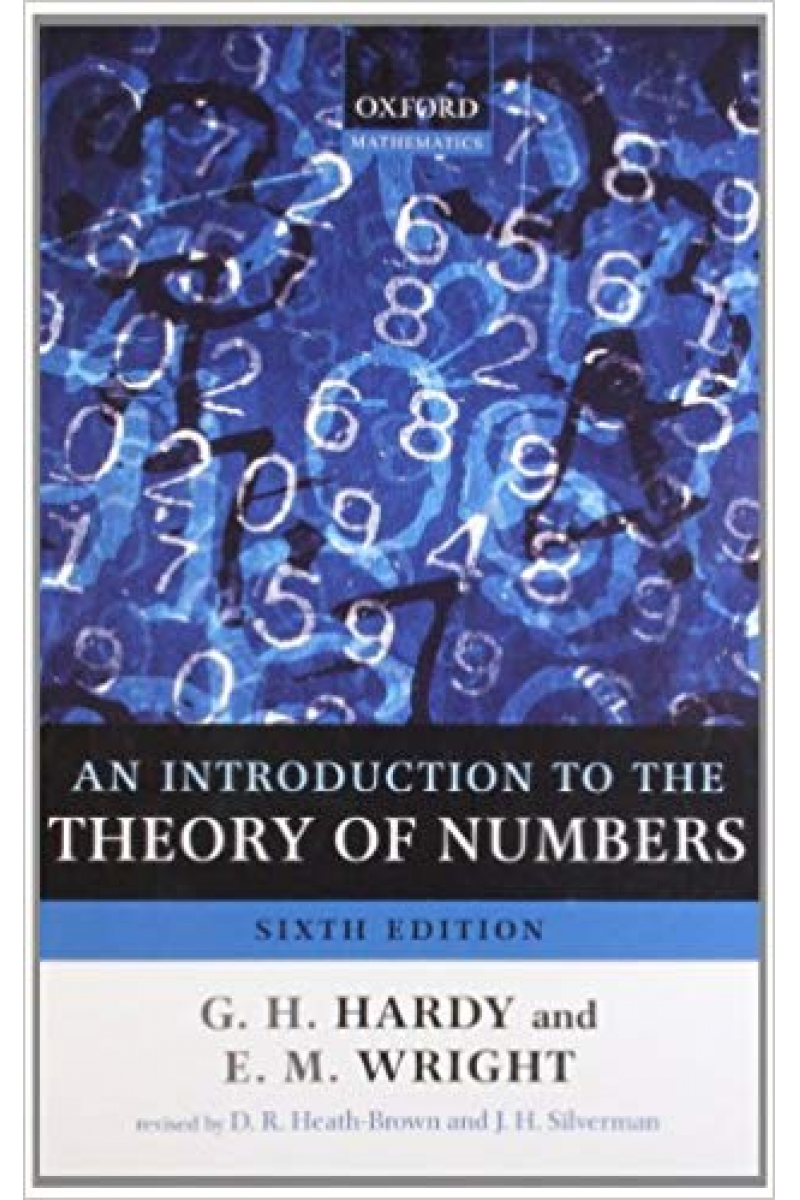 an introduction to the theory of numbers 6th (hardy)
