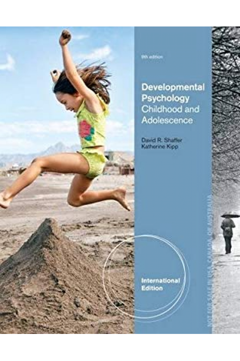 developmental psychology 9th (david shaffer)