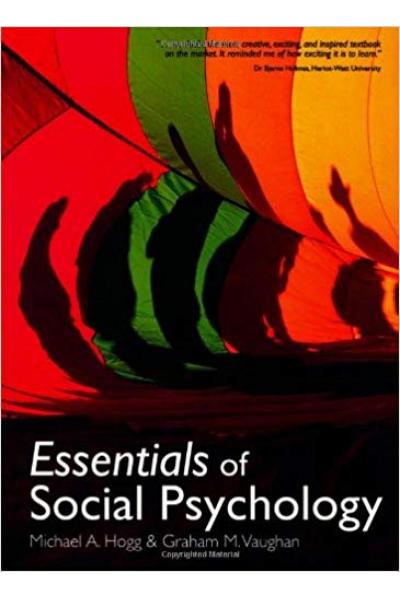 essentials of social psychology (hogg, vaughan)