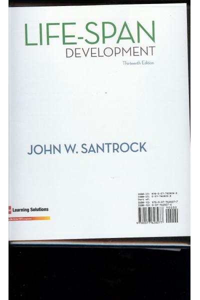 life-span development 13th (john santrock)