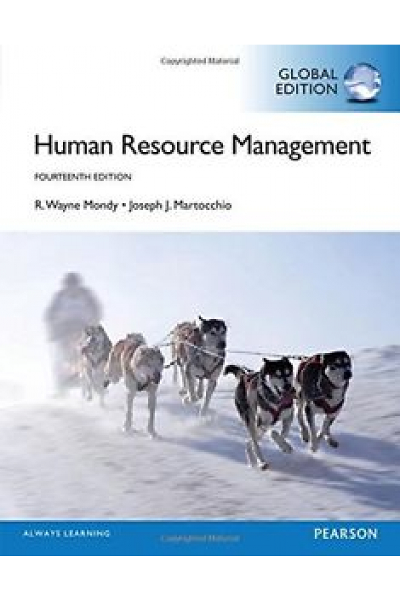 human resource management 14th (mondy, martocchio)