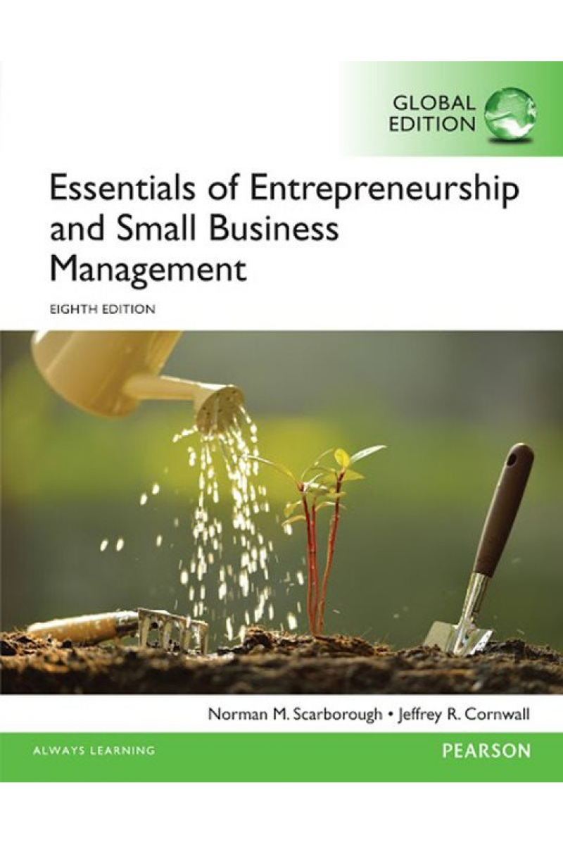 essentials of entrepreneurship and small business management 8th (scarborough)