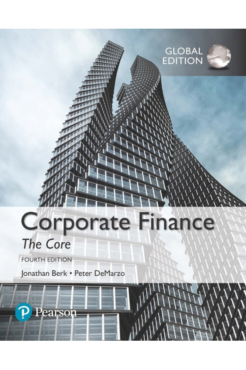 corporate finance the core 4th (berk, demarzo)