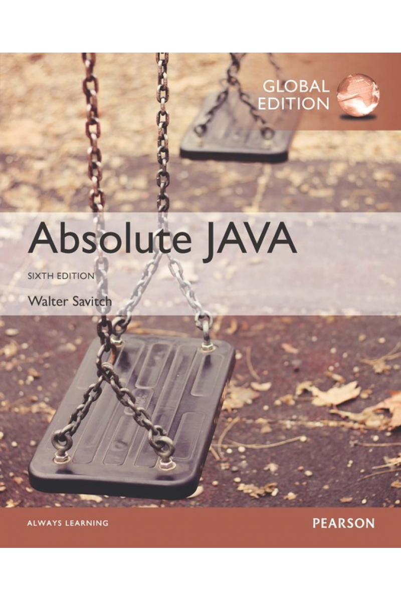 absolute JAVA 6th (walter savitch)