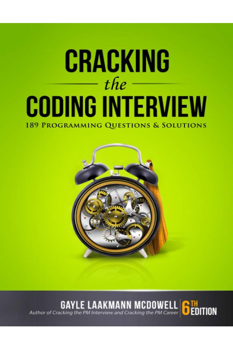 cracking the coding interview 6th (gayle laakmann)