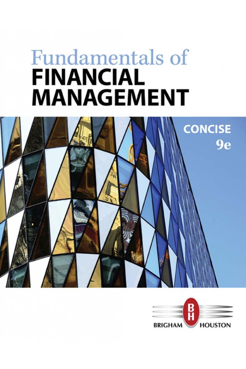fundamentals of financial management concise 9th (brigham, houston)
