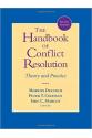 the handbook of conflict resolution 2nd (deutsch, coleman, marcus)
