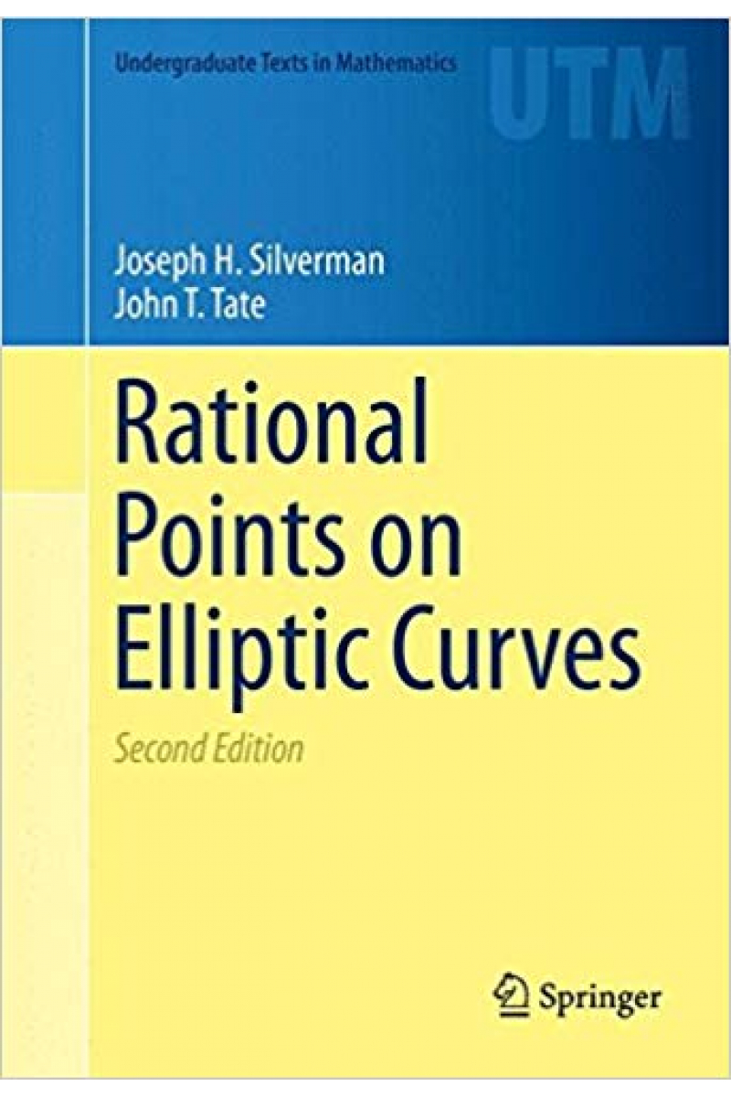 rational points on elliptic curves 2nd (silverman, tate)