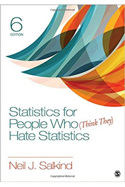 statistics for people who (think they) hate statistics 6th (neil salkind)