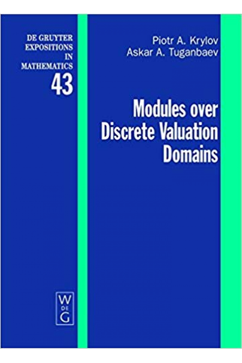 modules over discrete valuation domains (krylov, tuganbaev)