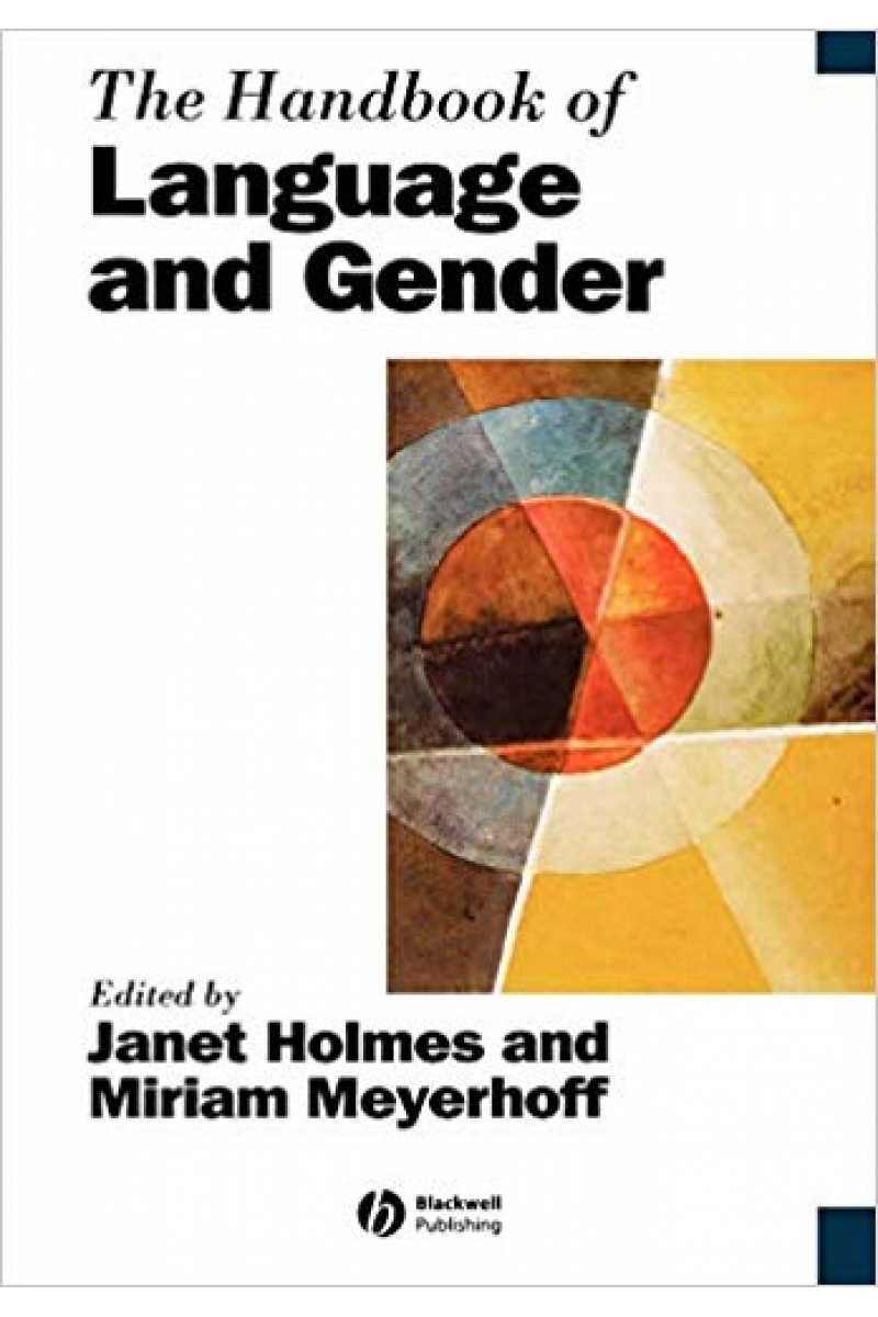 the handbook of language and gender (holmes, meyerhoff)