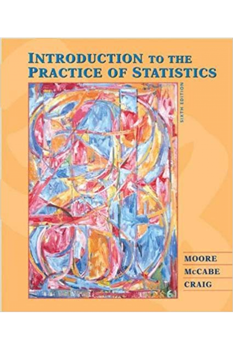 introduction to the practice of statistics 6th (moore)